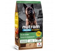 Nutram T26 Total Grain-Free с ягненком и бобовыми 11,4 кг