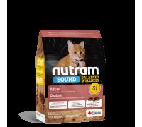 Nutram S1 Sound Balanced Wellness Kitten 1,13 кг