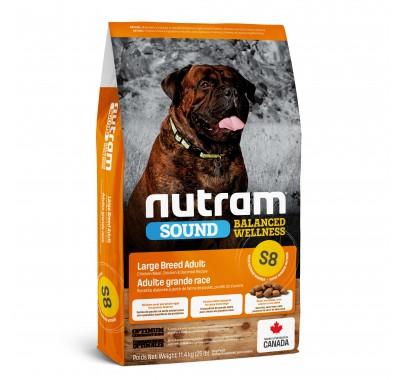Nutram S8 Sound Balanced Wellness Large Breed Adult 11,4 кг