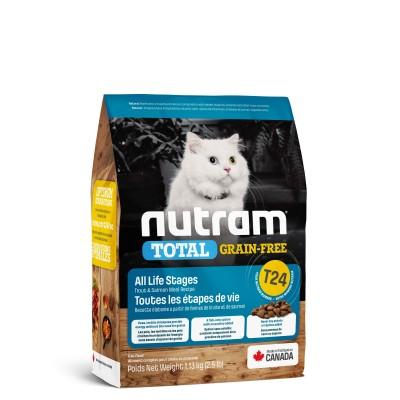 Nutram T24 Total Grain-Free с лососем и форелью 320 г