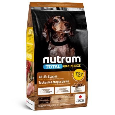 Nutram T27 Total Grain-Free с курицей и индейкой 320 г