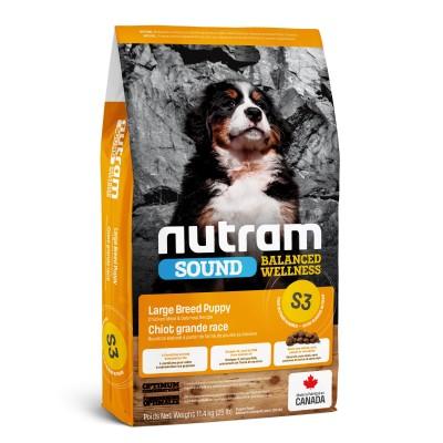 Nutram S3 Sound Balanced Wellness Large Breed Puppy 11,4 кг