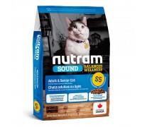 Nutram S5 Sound Balanced Wellness Adult & Senior Cat 1,13 кг