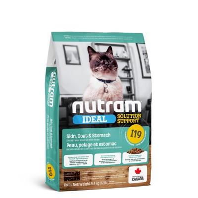 Nutram I19 Ideal Solution Support Sensetive Coat, Skin, Stomach Cat 320 г