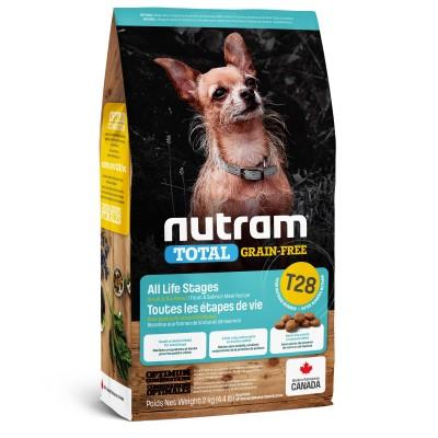 Nutram T28 Total Grain-Free с лососем и форелью 320 г