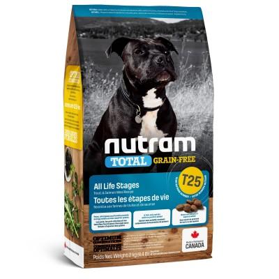 Nutram T25 Total Grain-Free с лососем и форелью 2 кг