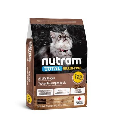 Nutram T22 Total Grain-Free с индейкой, курицей и уткой 320 г