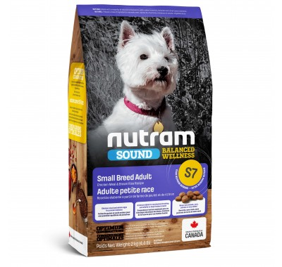 Nutram S7 Sound Balanced Wellness Small Breed Adult 320 г