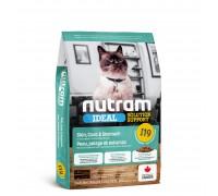 Nutram I19 Ideal Solution Support Sensetive Coat, Skin, Stomach Cat 20 кг