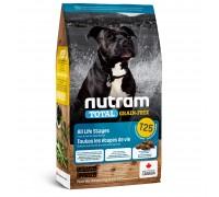 Nutram T25 Total Grain-Free с лососем и форелью 11,4 кг