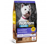 Nutram S7 Sound Balanced Wellness Small Breed Adult 2 кг
