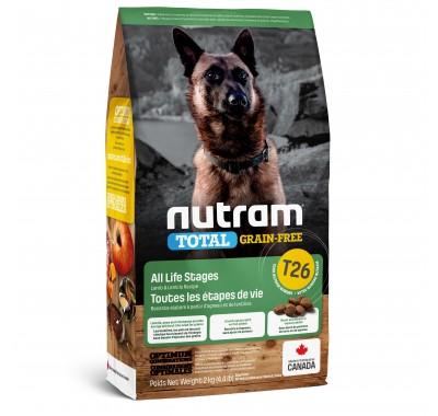 Nutram T26 Total Grain-Free с ягненком и бобовыми 2 кг