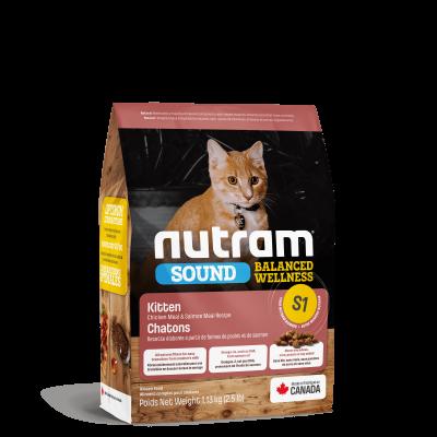 Nutram S1 Sound Balanced Wellness Kitten 320 г