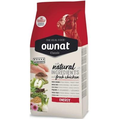 Ownat Classic Energy - корм Овнат для взрослых активных собак
