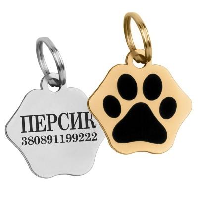 Адресник для котов и собак BronzeDog Тип 3 S