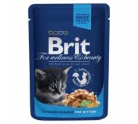 Brit Premium курица для котят