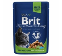 Brit Premium курица для стерилизованных
