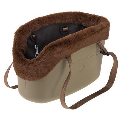 WITH-ME BAG WINTER Мягкая Сумка-переноска для собак с чехлом до 8 кг
