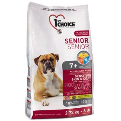 1st Choice Senior 7+ Sensitive Skin & Coat 12 кг