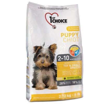 1st Choice Toy&Small Puppy Chicken 7 кг
