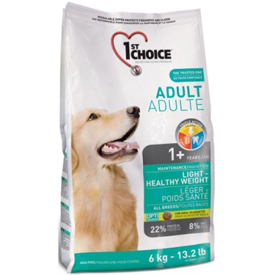 1st Choice Adult Light - Healthy Weight 12кг
