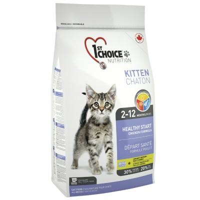 1st Choice Healthy Kitten со вкусом курицы 10 кг