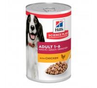 Hill's SP Canine Adult Влажный корм для собак с курицей 370г