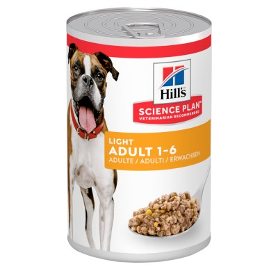 Hill's SP Canine Adult Light Влажный корм для собак 370г