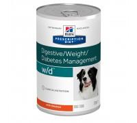 Hill's PD Canine W/D влажный корм для собак с курицей 370г
