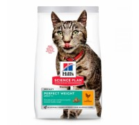 Hill's SP Feline Adult Perfect Weight с курицей 1,5 кг