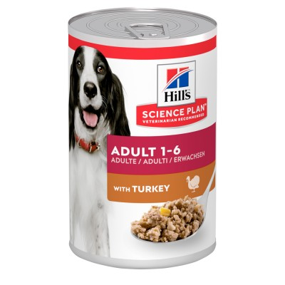 Hill's SP Canine Adult Влажный корм для собак с индейкой 370г