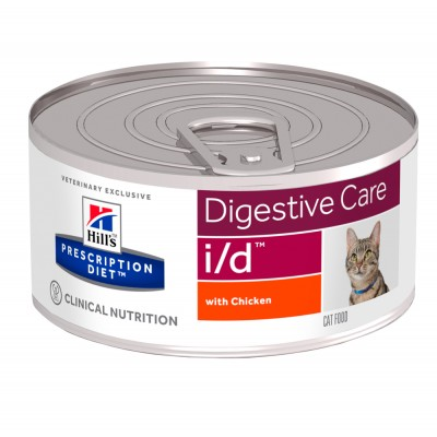 Hill's PD Canine I/D Влажный корм для котов с курицей 156г