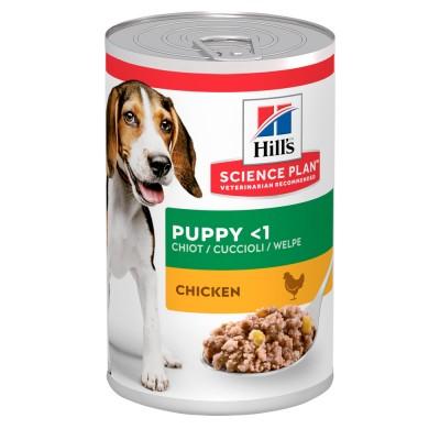 Hill's SP Canine Puppy Влажный Корм для щенков курица 370г