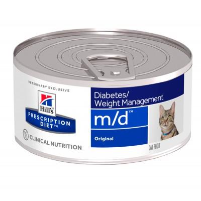 Hill's PD Canine M/D Влажный корм для котов 156г