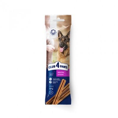 КЛУБ 4 ЛАПЫ Premium Dental Sticks Лакомства для собак 117 г