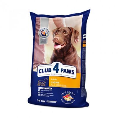 Club 4 Paws Premium сухой корм для взрослых собак всех пород - Контроль веса