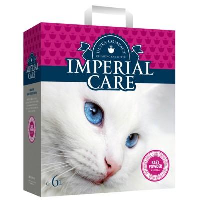 Imperial Care ультра-комкующийся наполнитель с ароматом детской пудры