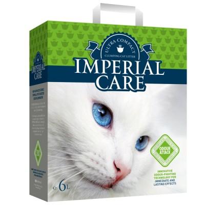 Imperial Care Odour Attack ультра-комкующийся наполнитель с ароматом летнего сада