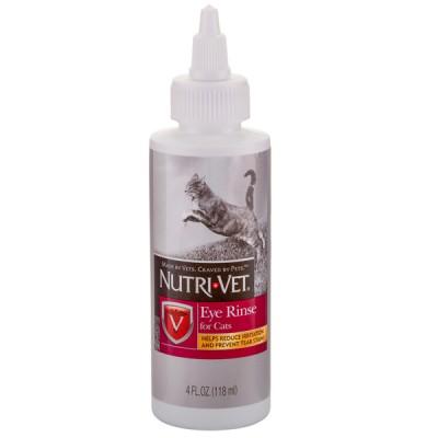 Nutri-Vet Eye Cleanse НУТРИ-ВЕТ ЧИСТЫЕ ГЛАЗА глазные капли для кошек 118 мл