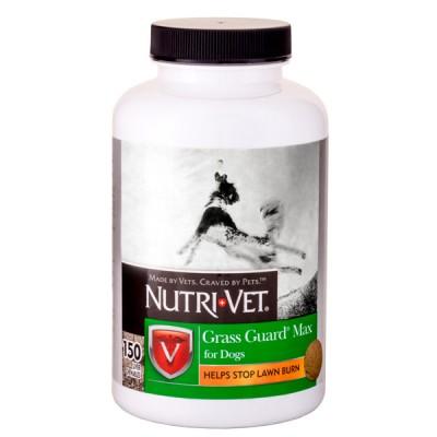 Nutri-Vet Grass Guard НУТРИ-ВЕТ ЗАЩИТА ГАЗОНА МАКС добавка для собак, от «выжигания» газонной травы 150 шт