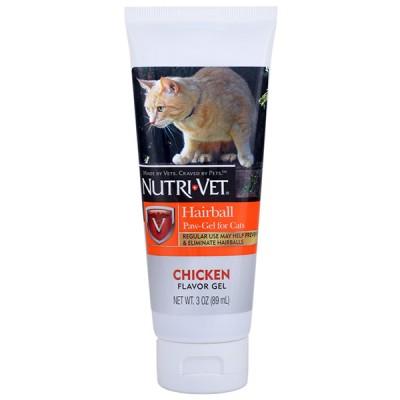 Nutri-Vet Hairball Chicken НУТРИ-ВЕТ ВЫВЕДЕНИЕ ШЕРСТИ КУРИЦА добавка для кошек 89 мл