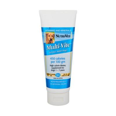 Nutri-Vet Multi-Vite НУТРИ-ВЕТ МУЛЬТИ-ВИТ ГЕЛЬ комплекс витаминов и минералов для собак, гель