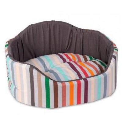 Pet fashion Лежак для собак Коралл коричневый