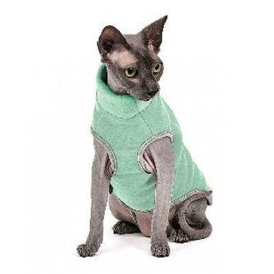 Pet fashion Свитер БРЮС для кота мятный