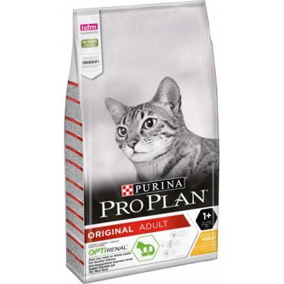 ProPlan ORIGINAL для взрослых кошек с курицей 400 г