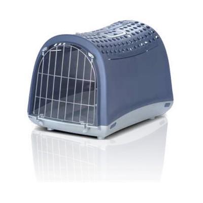 Imac ЛИНУС КАБРИО (LINUS CABRIO) переноска для собак и кошек, пластик 50х32х34,5см