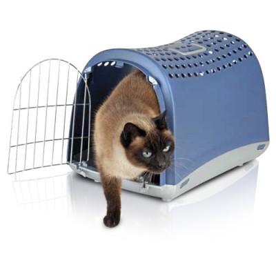 Imac ЛИНУС (LINUS) переноска для собак и кошек, пластик 50х32х34,5 см