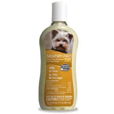 Sentry Pro Toy Breed Flea & Tick Shampoo - шампунь для собак 354 мл