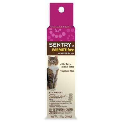 Sentry EarMite Free капли от ушного клеща 29 мл